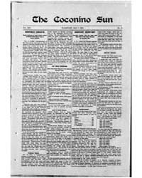 The Coconino Sun : May 1904 by Funston, C.M.