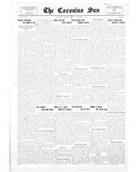 The Coconino Sun : Nov 1913 by Funston, C.M.