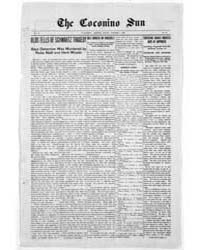 The Coconino Sun : Oct 1909 by Funston, C.M.
