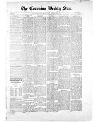 The Coconino Weekly Sun : Volume 9, Nov ... by Funston, C.M.