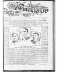 The Colored American : April 1901 by Colored American Pub. Co.