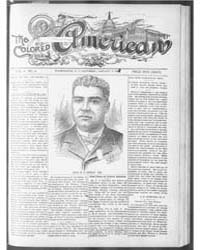 The Colored American : Jan 1901 by Colored American Pub. Co.