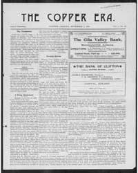 The Copper Era : Nov 1900 by Bull, C.E.