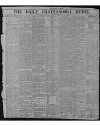 The Daily Chattanooga Rebel. : (Griffin,... by