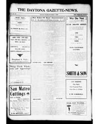 The Daytona Gazette News : Volume 11, No... by Fitzgerald, Edward