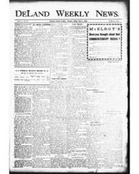 The Deland Weekly News : May 1906 by Eldridge, L.H.