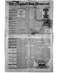 The Flagstaff Sun Democrat : Volume 15, ... by Jones and Jackson