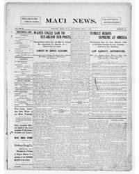 Daily Maui News : Volume 1, July 1905 by Robertson, G.B.