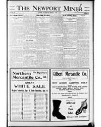 The Newport Miner : Volume 1, April 1908 by Herbert, W.R.