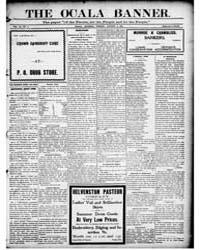The Ocala Banner : Volume 17, Aug 1905 by Harris, T.W.; Bittinger, C.L.; Harris, F.E.