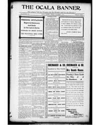 The Ocala Banner : Volume 17, Nov 1901 by Harris, T.W.; Bittinger, C.L.; Harris, F.E.