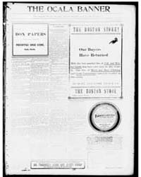 The Ocala Banner : Volume 17, Oct 1902 by Harris, T.W.; Bittinger, C.L.; Harris, F.E.