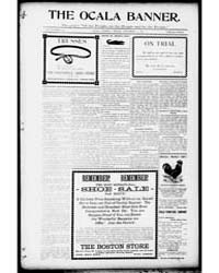 The Ocala Banner : Volume 17, Sept 1901 by Harris, T.W.; Bittinger, C.L.; Harris, F.E.