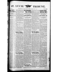 The St. Lucie County Tribune : Volume 15... by The St. Lucie County Tribune