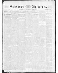 The Sunday Globe : Volume 1, Aug 1901 by The Sunday Globe