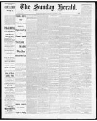 The Sunday Globe : Volume 1, Nov 1882 by The Sunday Globe
