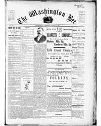 The Washington Bee : Volume 3, Feb 1894 by The Washington Bee