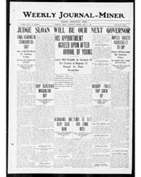Weekly Journal Miner : April 1909 by Journal-miner Pub. Co.