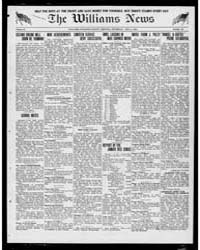 Williams News Microform : Volume 56, Apr... by Wells, F.E.