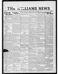 Williams News Microform : Volume 56, Dec... by Wells, F.E.