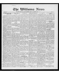 Williams News Microform : Volume 56, Dec... by Wells, F.E.