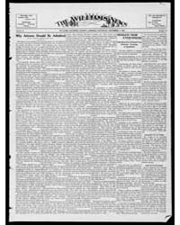 Williams News Microform : Volume 56, Nov... by Wells, F.E.