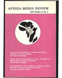 Africa Media Review : Volume 11, Number ... by Africa Media Review