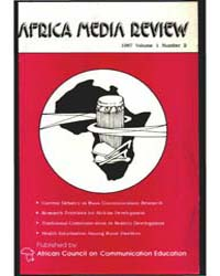 Africa Media Review : Volume 1, Number 2... by Quaidoo, Isaac Obeng