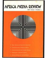 Africa Media Review : Volume 3, Number 1... by Quaidoo, Isaac Obeng