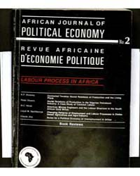 African Journal of Political Economy, Nu... Volume Number 2 by African Journal of Political Economy