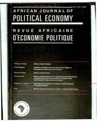 African Journal of Political Economy : V... by African Journal of Political Economy