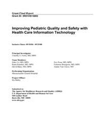 Agency for Healthcare Research and Quali... by Ferris,timothy, G.