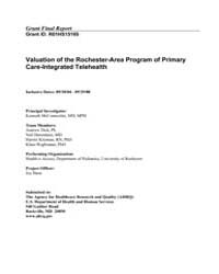 Agency for Healthcare Research and Quali... by McConnochie, Kenneth