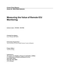 Agency for Healthcare Research and Quali... by Thomas, Eric, J