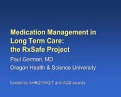 Agency for Healthcare Research and Quali... by Gorman, Paul