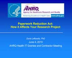 Agency for Healthcare Research and Quali... by Lefkowitz, Doris