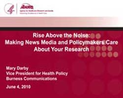 Agency for Healthcare Research and Quali... by Dar, Mary