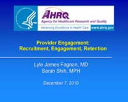 Agency for Healthcare Research and Quali... by Fagnan, Lyle, James