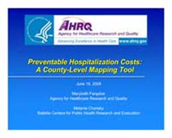 Agency for Healthcare Research and Quali... by Farquhar, Marybeth
