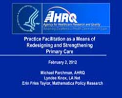 Agency for Healthcare Research and Quali... by Parchman, Michael