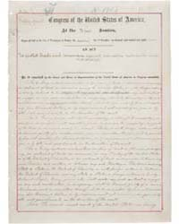 An Act of July 2, 1890, Public Law Numbe... by National Archives and Records Administration