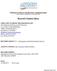 Americas National Archives Journals : Im... by Department of Justice. Immigration and Naturalizat...