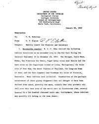 Americas National Archives Journals : Mo... by Department of the Interior. Geological Survey. Geo...
