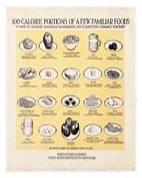 100-calorie Portions of a Few Familiar F... by Department of the Interior Office of Indian Affair...