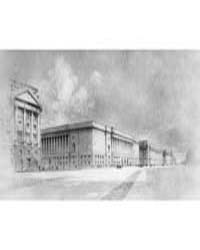 Architectural Drawing of the Archives Bu... by General Services Administration ; National Archive...