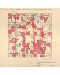 Allotment Map of Fractional Township 3 :... by Department of the Interior Office of Indian Affair...