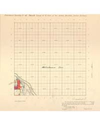 Allotment Map of Fractional Township 6 :... by Department of the Interior Office of Indian Affair...