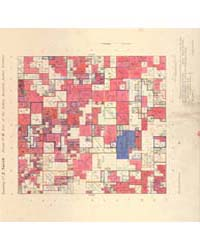 Allotment Map of Township 2 : North of R... by Department of the Interior Office of Indian Affair...