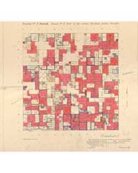 Allotment Map of Township 7 : South of R... by Department of the Interior Office of Indian Affair...