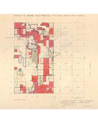 Allotment Map of Township 1 : South 1 of... by Department of the Interior Office of Indian Affair...